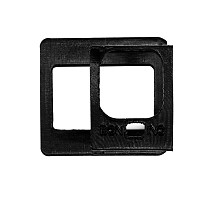 BGNING Stabilizer Conversion Splint Protection Fixing Sleeve Handheld Gimbal Connection Installation Accessories TPU 3D Printed for Camera 8