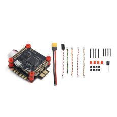 GEPRC Stack GEP-SPAN-F722-BT Dual Gyro F7 OSD Flight Controller & 50A BL_32 3-6S 4IN1 ESC for FPV Racing Drone Quadcopter Model