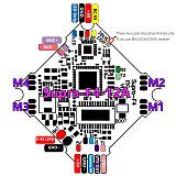 QWinOut T100 DIY RC Drone Kit Standard Version with 100mm Frame Supra F4-12A F4 Flight Control 1103 Motor Razer Micro FPV Camera T8S Remote Controller