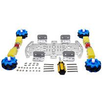 Feichao 48MM Diameter Wheel DIY Car Vehicle Intelligent Smart car chassis TT motor For Kids Christmas Present