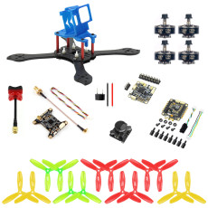 JMT T210 DIY FPV Racing Drone Kit RC Quadcopter with 210mm Frame Kit OmniF4 Pro V2 Flight Control Camera Mount for GOPRO 5 6 7