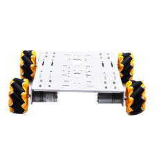 Feichao Intelligent Robot Smart Car Chassis 4WD Drive DIY Building Car Vehicle Full Set For Kids Educational Experiment Car model