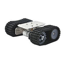 Feichao Super Mini Tracked Car Chassis Robot Race Car Metal Structure Fitting DIY Full set Car Model For kids Educational Experiment Development Car