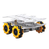 Feichao 80MM Diameter Wheel Drive DIY Building Crawler training race Omnidirectional movement car For kids Educational Experiment Development Car Gift