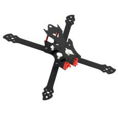 JMT OWL260 260mm FPV Racing Drone Frame Kit Carbon Fiber Rack with 3D Print TPU Camera Mount for 19mm FPV Camera