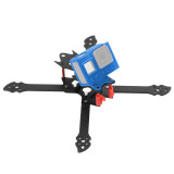 QWinOut OW​L260 260mm FPV Racing Drone Frame Kit Carbon Fiber Rack with 3D Print TPU Camera Mount for gopro hero 8 Action Camera