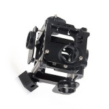 BGNING Aluminum Panoramic Bracket 6 Positions 360 720 Degrees VR Video Shooting System For GoPro Hero5 6 7 Black Action Camera Accessories