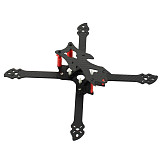 JMT OWL260 260mm FPV Racing Drone Frame Kit Carbon Fiber Rack with 3D Print TPU Camera Mount for 19mm FPV Camera