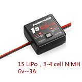 Hobbywing 1S DC-DC External BOOSTER Power Boost Module Bec Step Up Boost Power Module for 1:12 Rc Car