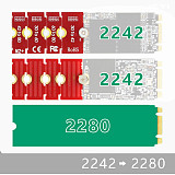 JEYI M2 M2PLUS NGFF NVME m. 2 Extended Transfer 2230, 2242, 2260, 2280 M2 CHANGE LONG SIZE NVME NGFF M.2 U.2 M3 M.3 SSD