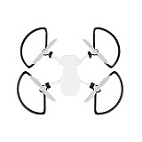 Sunnylife Propellers Guards Protectors Shielding Rings with Landing Gears Props Support Leg Stands for DJI Mavic Mini Drone