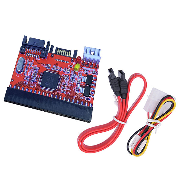 XT-XINTE 2 in 1 2.5  40pin IDE to SATA / SATA to IDE Adapter Converter for DVD CD HDD Bidirectional Transfer for PC Computer