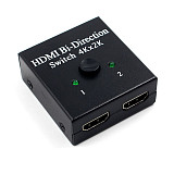 XT-XINTE 4K HDMI Bi-Direction Switch 4Kx2K HDMI 2.0 Cable Switcher Splitter HDMI Bidirectional Switch