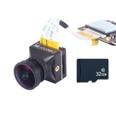 Hawkeye Firefly 4K Split Camera Mini WDR Sensor FPV Camera With 32G Memory Card For HD Recording DVR RC Drone Racer