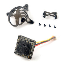 Happymodel Mobula6 Spare Parts Runcam Nano3 FPV Camera with Camera Canopy for Mobula 6 Mini FPV Indoor Racer