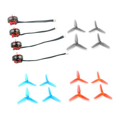 Happymodel EX1203 1203 6200KV 2-3S Brushless Motor with 2.5inch 65mm PC Propeller for Toothpick Larva X HD DIY FPV Drone Building Kit