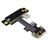 ADT-Link M.2 WiFi A.E Key Interface Adapter M.2-A\Ekey to PCIE X1 Adapter Board Extensione Cable Supports PCI-E 3.0 x1 Riser Adapter