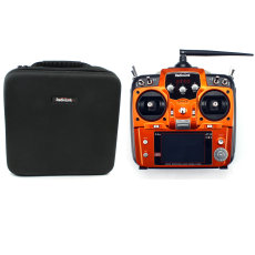 RadioLink AT10 II RC Transmitter 2.4G 12CH Remote Control System with R12DS Receiver Portable Case Handbag for RC Airplane Helicopter FPV Drones