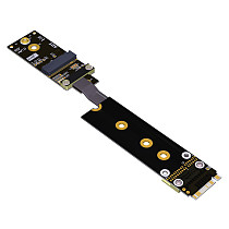 ADT-Link M.2 Wifi Extension Transfer Motherboard M.2 NVMe Interface Support Wireless Network Card R45SF Riser Adapter