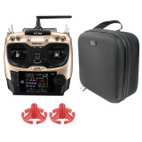 Radiolink AT9S PRO with Portable Case Handbag Rocker Mount 2.4G 12CH Remote Control RC Transmitter with R9DS Receiver For FPV DIY RC Drone Quadcopter Airplane