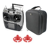 Radiolink AT9S with Portable Case Handbag Rocker Mount 2.4G 10CH Radio System DSSS FHSS Transmitter 9CH R9DS Receiver Controller S-BUS for RC Drone Quadcopter