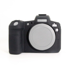 BGNING Camera Case Silicone Case Black / Yellow ​for Canon EOS-R