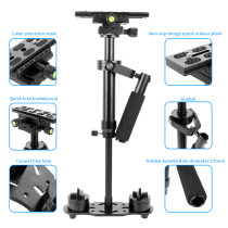 BGNing Universal S60 Aluminum Handheld Stabilizer Adjustable Mount for Phone DV AEE DSLR Video Camera Shooting Shake Shock Bracket