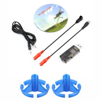 JMT 22 in 1 Simulator G7 / G6 / G5 / Phoenix 5.0 / 4.0 / XTR WIN7 / 8 Compatible with Rock Mount for Jumper T16 Pro FRSKY X9D Plus Radiolink T8F AT9 AT10 FLYSKY Remote Controller