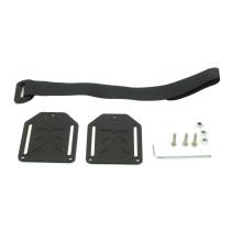 JMT 3D Print PLA Lock Mount Handbag Backpack DIY Hanging Buckle with Strap 3D Printing Hook for FPV Racing Drone