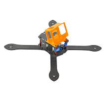 JMT T300 300mm 3K Full Carbon Fiber Frame Kit True X Quadcopter Rack with 3D Print Camera Mount for GOPRO 8 Freestyle DIY FPV Racing Drone