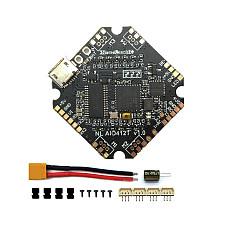 FullSpeed AIO412T F4 AIO F411Flight Controller+12A ESC 2-4S HV DShot600 for DIY FPV Racing Drone Quadcopter