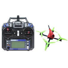 FullSpeed NameLessRC PowerStick 3-4S FPV Racing Drone Quadcopter RTF with Flysky FS-I6 Remote Controller