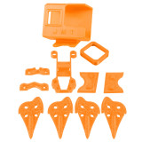 JMT 3D Printed TPU Camera Mount with 3D Print Accessory Kit for Cidora SL5 5inch 215mm Freestyle RC FPV Racing Drone Gopro Hero 5/6/7
