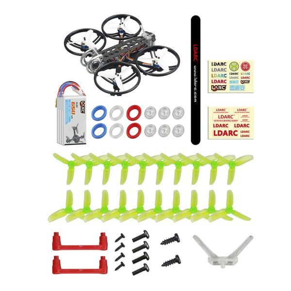 LDARC DJ140/ DJ140-Digital PNP 4S Cinewhoop FPV Racing RC Drone Quadcopter Configure DJI FPV Digital