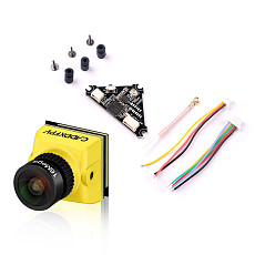 Caddx Baby Ratel Mini FPV Camera 1200TVL 1/1.8'' Starlight HDR 14*14mm with Whoop_VTX 40ch VTX for FPV Racing Drone Toothpick