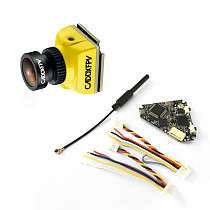 Caddx Baby Ratel Mini FPV Camera 1200TVL with NameLessRC D400 VTX+DVR AIO 48CH Raceband for FPV Racing Drone RC Quadcopter