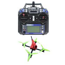 FullSpeed NameLessRC PowerStick 3-4S FPV Racing Drone Quadcopter RTF DVR Version with Flysky FS-I6 Remote Controller