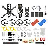LDARC HD140 Frame KIT Accessories / Body Plate / Aluminum Frame for FPV Racing Drone