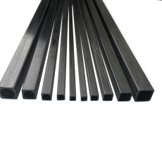 10 pcs JMT RC Model Accessories Carbon Fiber Square Tube Length 500mm Multi-Size OD 3mm 4mm 5mm 6mm 8mm 10mm