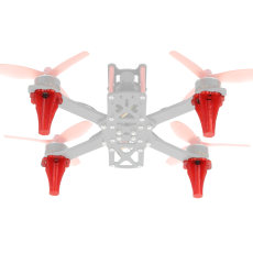 JMT 3D Print TPU Landing Skid 3D Printing Landing Gear for FPV Racing Drone RC Quadcopter 4pcs/Set