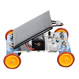 Feichao DIY Trolley Assembled Solar Technology Handmade intelligent Funny Toy Kit For Kids Educational model