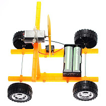Feichao DIY Wind-powered Toy Technology Car Creative Science Intelligent For Kids Educational DIY Toy Model