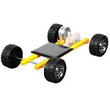Feichao DIY Solar Trolley Technology Car Handmade Kit Intelligent Creative Science Car For Kids Educational DIY Toy Model