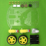 Feichao Intelligent Robot Tracking car chassis kit For Kids Educational DIY Unfinished Toy Model Gift