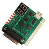 XT-XINTE USB PCI Notebook PC Laptop Motherboard Analyzer Diagnostic Analyzer POST Card with USB Cable for Notebook PC