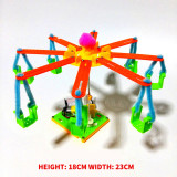 Feichao Colorful Carousel Model DIY Manual Gizmo Environmentally Friendly Material Waste Utilization​