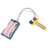 Feichao Electromagnetic coil Electromagnet Solenoid Middle School Electromagnetic Physics Experiment Equipment Toy model (without battery)