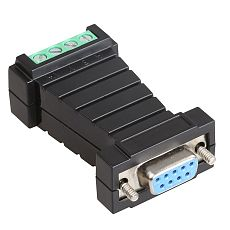 DIEWU RS232 to RS485 Switch Adapter Passive Converter Communication Converter Door-Powered Surge Protection