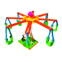 Feichao Colorful Carousel Model DIY Manual Gizmo Environmentally Friendly Material Waste Utilization