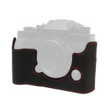 BGNING Half-set Leather Base Camera Bag Micro Single Half-set Leather Layer Leather for Fuji XT2, XT3